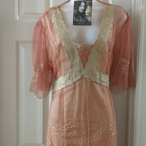 NWT Downton Abbey style 2pc dress Inga Nataya 2X